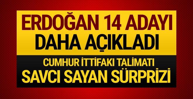 AK Parti'nin 14 belediye başkanı adayını daha açıkladı