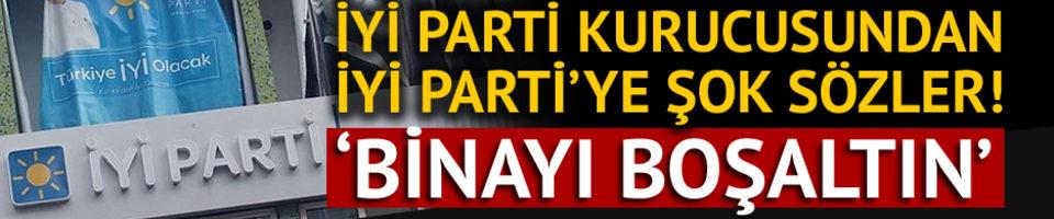 İYİ Parti kurucusundan İYİ Parti'ye dava