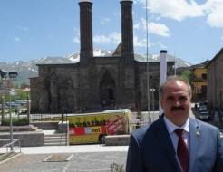 Milletvekili Aksak Erzurum'da