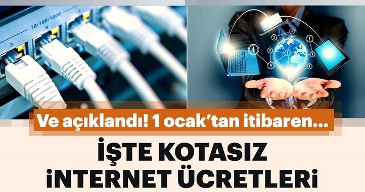 Türk Telekom kotasız internet tarifelerini açıkladı!