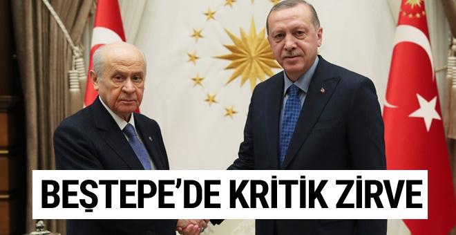 Erdoğan- Bahçeli bir araya geldi