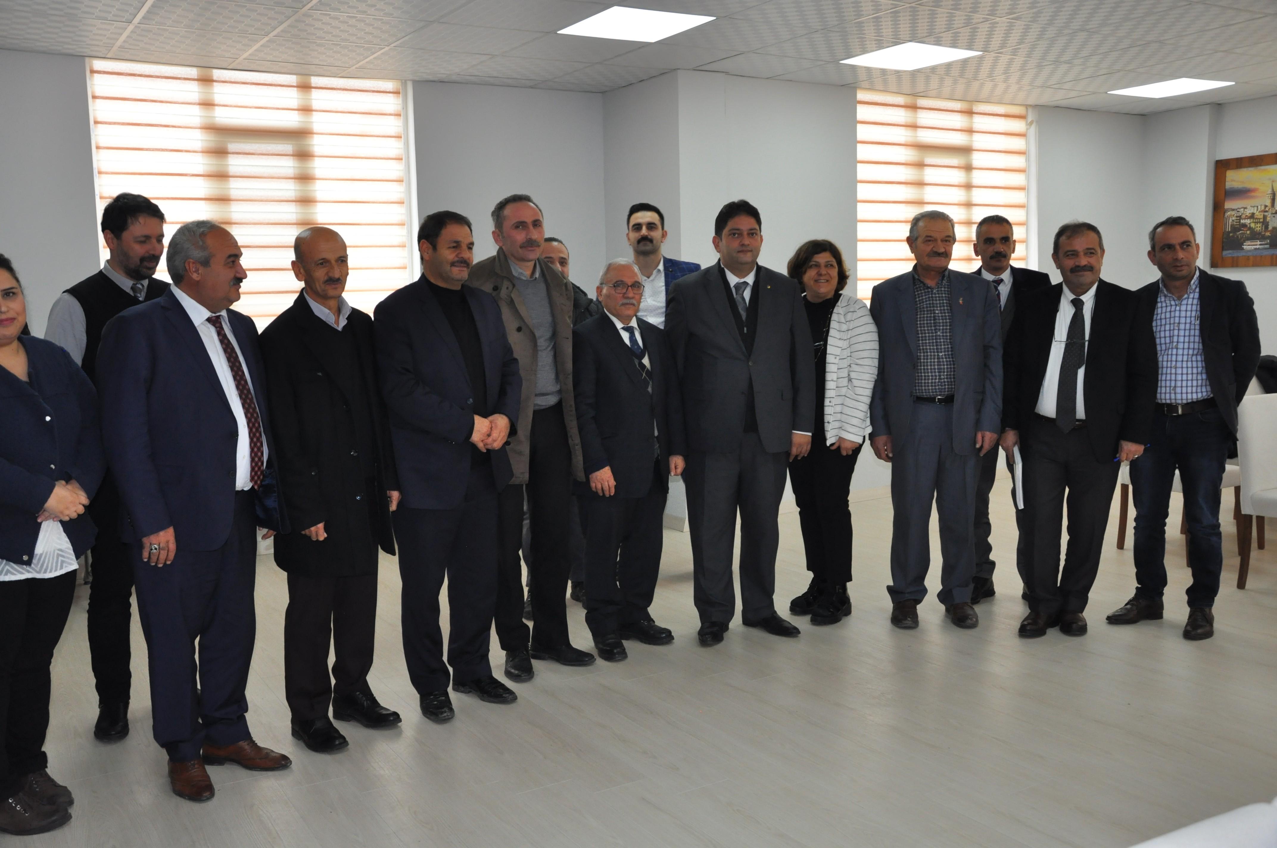 Erzurum kırmızı et kümelenmesi yönetim kurulu 3.'üncü toplantısını gerçekleştirdi