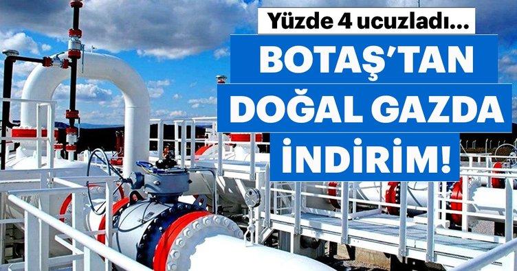 BOTAŞ'tan santrallere doğal gaz indirimi!