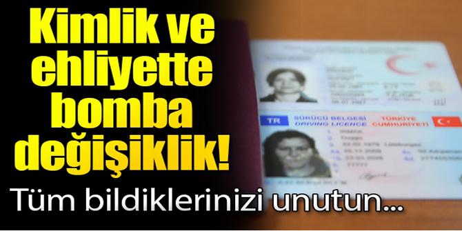 Erdoğan açıkladı! Artık kimlik ve ehliyetler...