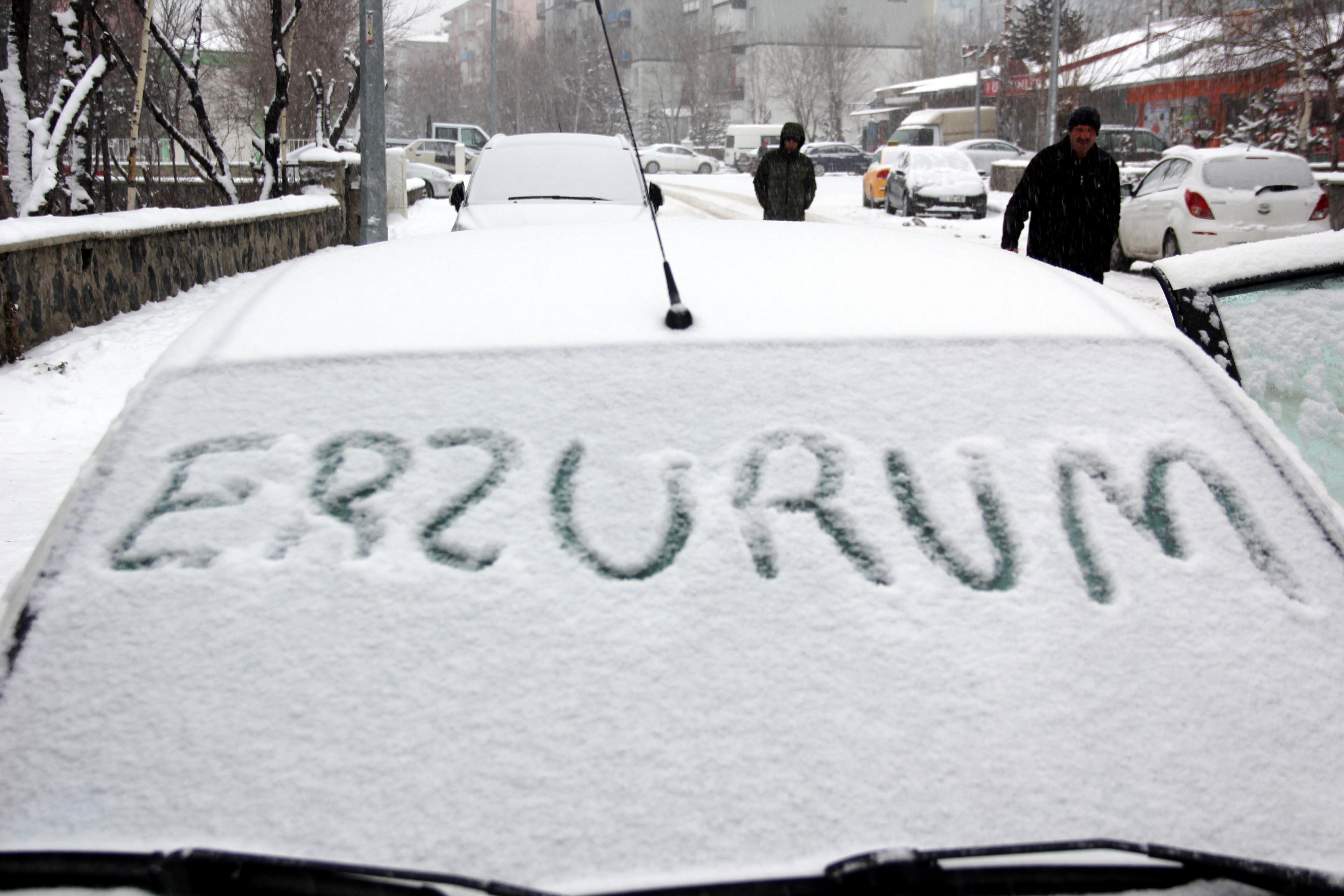 Ardahan'da hava sıcaklığı eksi 18 dereceye düştü