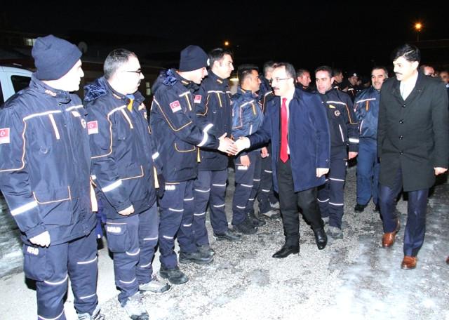 İçişleri Bakan Yardımcısı İsmail Çataklı'dan Afad Erzurum'a Ziyaret