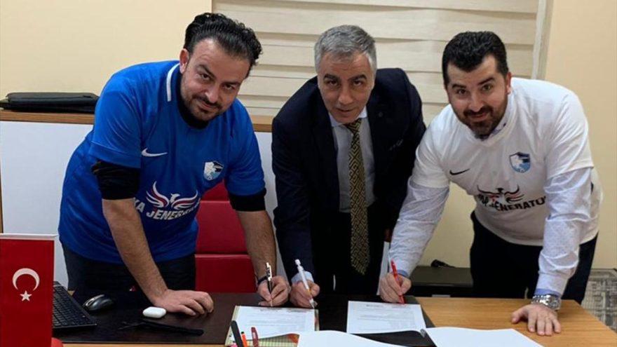 Anka Jeneratör Erzurumspor'a sponsor oldu