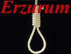 Erzurum'da bir kişi intihar etti!