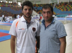 Erzurum'un karatecileri yine başardı