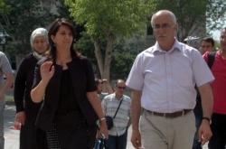Erzurum'da duruşma izledi