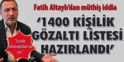 Altaylı'dan bomba iddia!