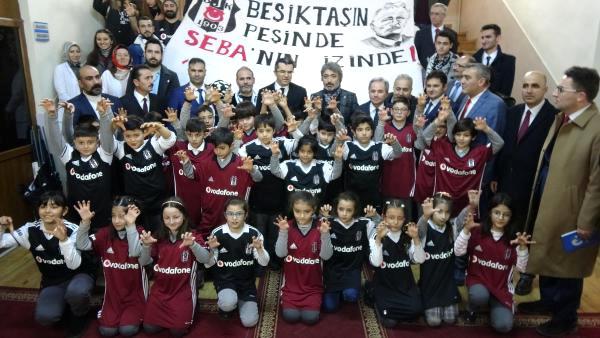 Erzurum'da Öğrencilere 800 Adet Beşiktaş Forması Dağıtıldı