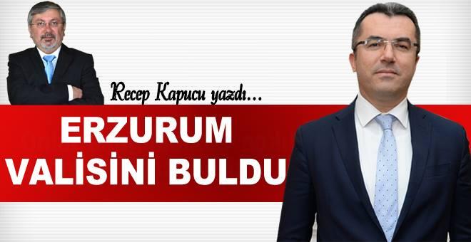 Erzurum Valisini buldu....