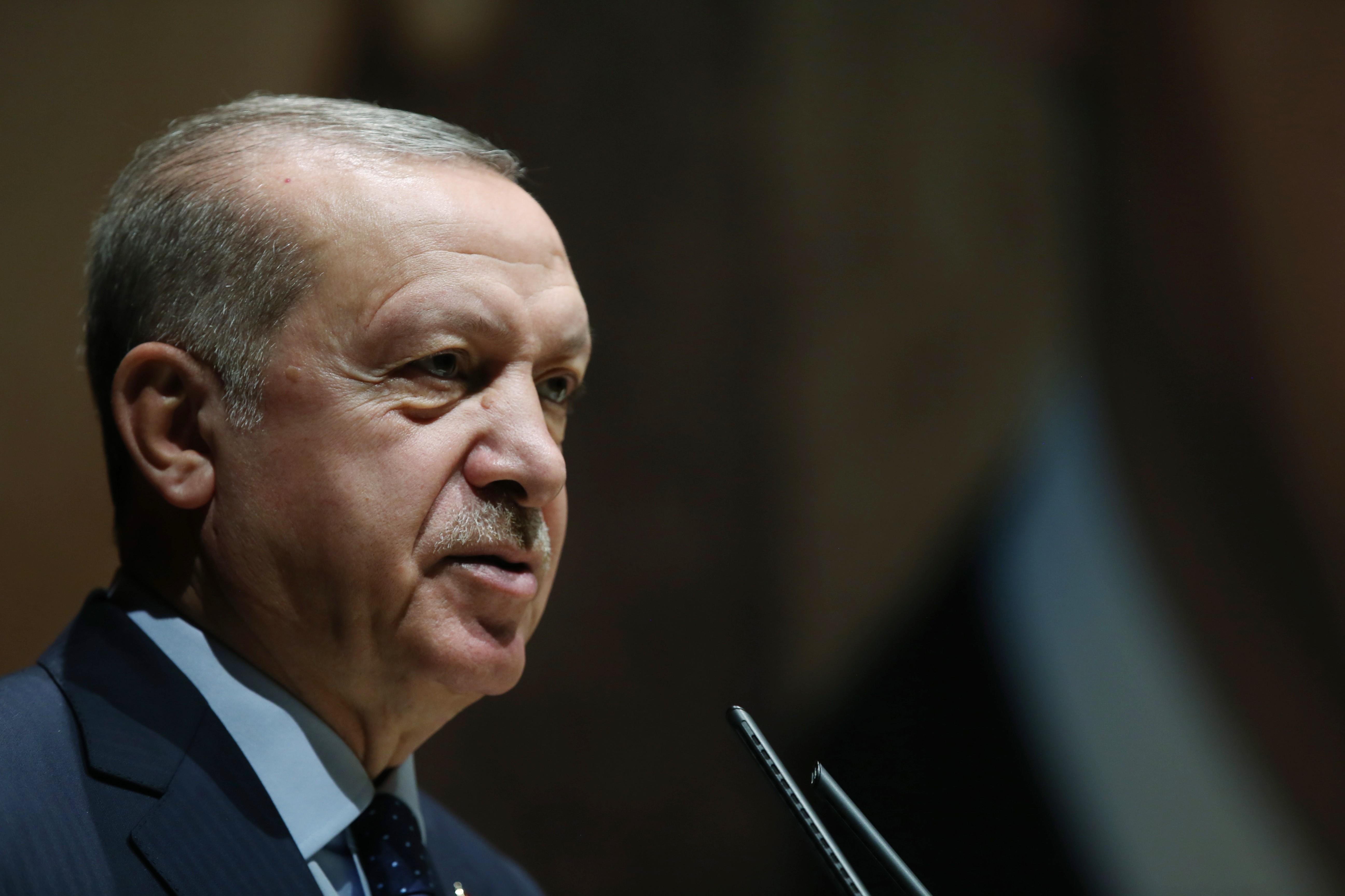 Cumhurbaşkanı Erdoğan'dan bez torba açıkalması