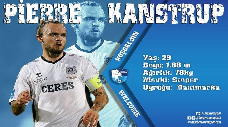 Danimarkalı savunma oyuncusu Pierre Kanstrup Erzurumspor'da