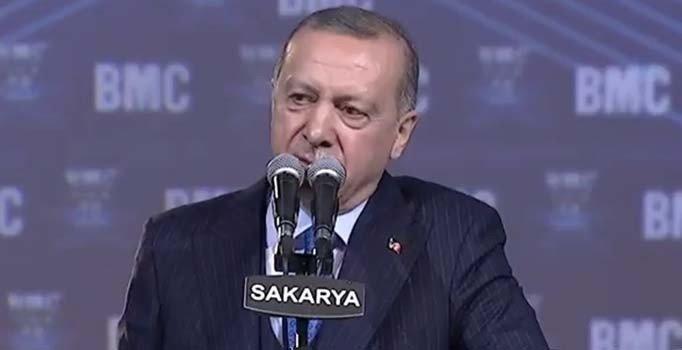 Erdoğan'dan 'Tank Palet Fabrikası' iddialarına yanıt