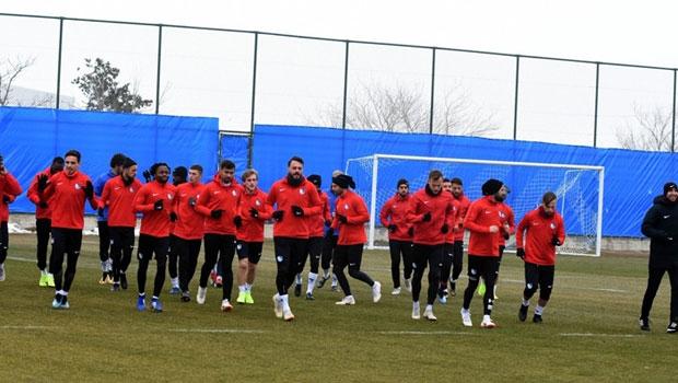 Erzurumspor'da ikinci yarı hazırlıkları