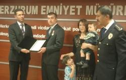 Devlet Övünç Madalyasını aldı!