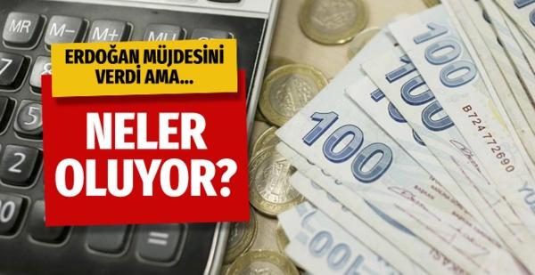 Kredi kartı yapılandırma Erdoğan müjdesini verdi ama