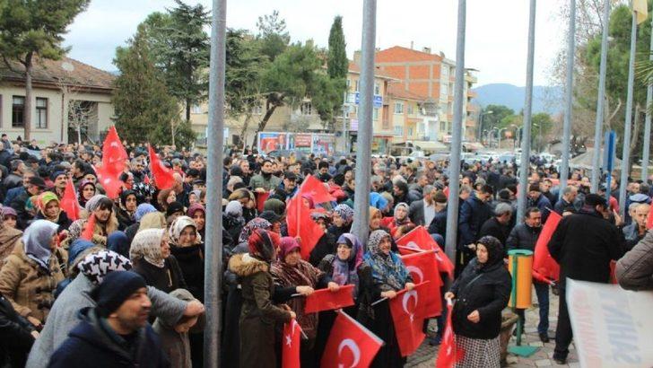 AK Parti'nin adayı Bilecik'in Osmaneli ilçesini karıştırdı