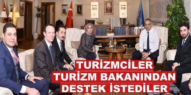 Turizmciler, Turizm Bakanından destek istediler