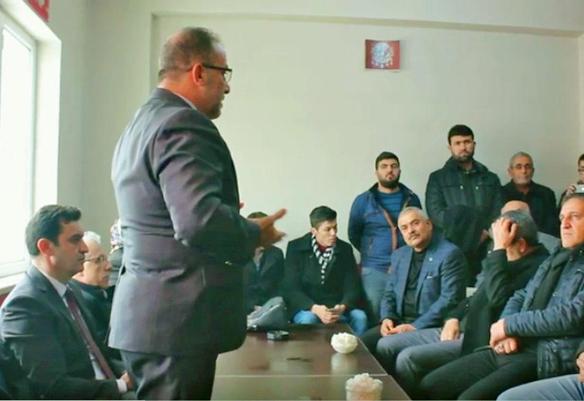 AK Parti'li başkandan dikkat çeken sözler: Kazanamazsak kazığa oturturlar!