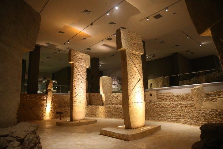 Tarihin en eski yapısı Göbeklitepe'den muhteşem görüntüler