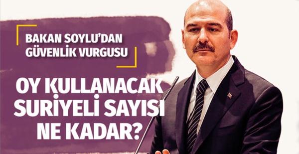 Bakan Soylu'dan Erzurum'da seçim güvenliği vurgusu