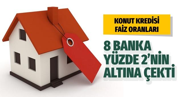 8 banka yüzde 2'nin altına çekti