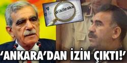 Ahmet Türk'e Apo ile görüşme izni!...