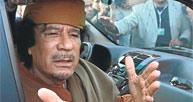 Kaddafi için yolun sonu!