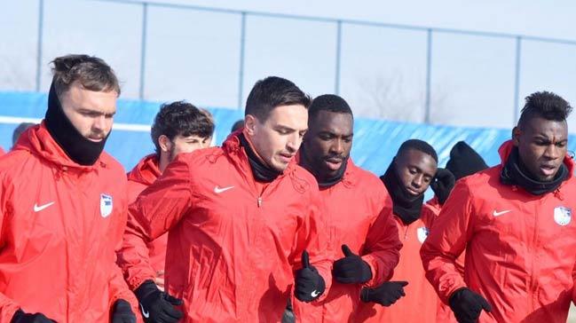 Erzurumspor, Beşiktaş maçı hazırlıklarına başladı