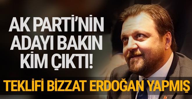 Teklifi bizzat Cumhurbaşkanı Erdoğan'dan aldım
