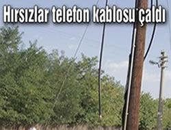 Erzurum'da tel hırsızlığı sürüyor