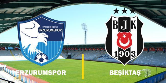 Erzurumspor, Beşiktaş maçına hazır