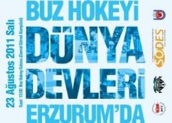 Devler Erzurum'a geliyor