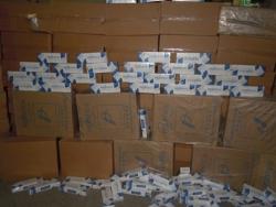 54 bin paket kaçak sigara yakalandı