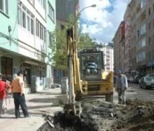 Erzurum'un alt yapısı değişiyor