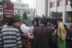 KCK davası Erzurum'da başladı