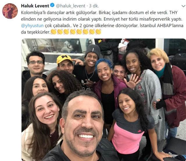 Haluk Levent'e Kolombiya Devlet Başkanı'ndan teşekkür telefonu