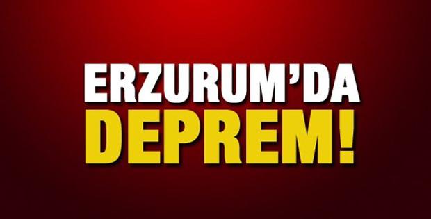 Erzurum 5 depremle sarsıldı