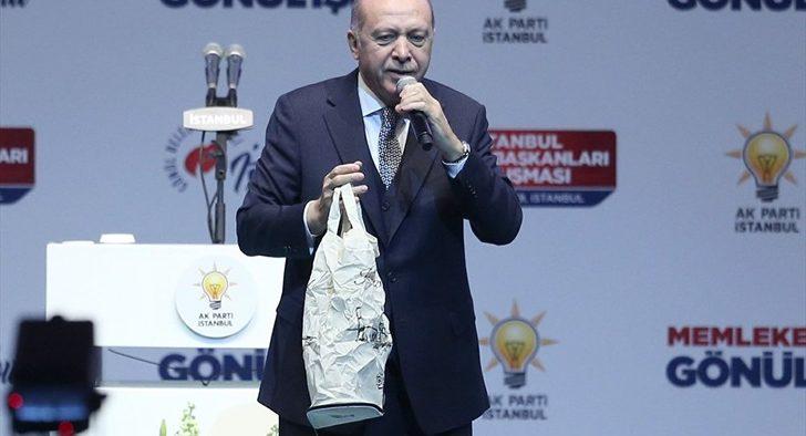 Erdoğan o ürünleri tanıttı! Ücretsiz dağıtılacak