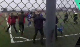 Kahramanmaraş'ta amatör maçta kavga