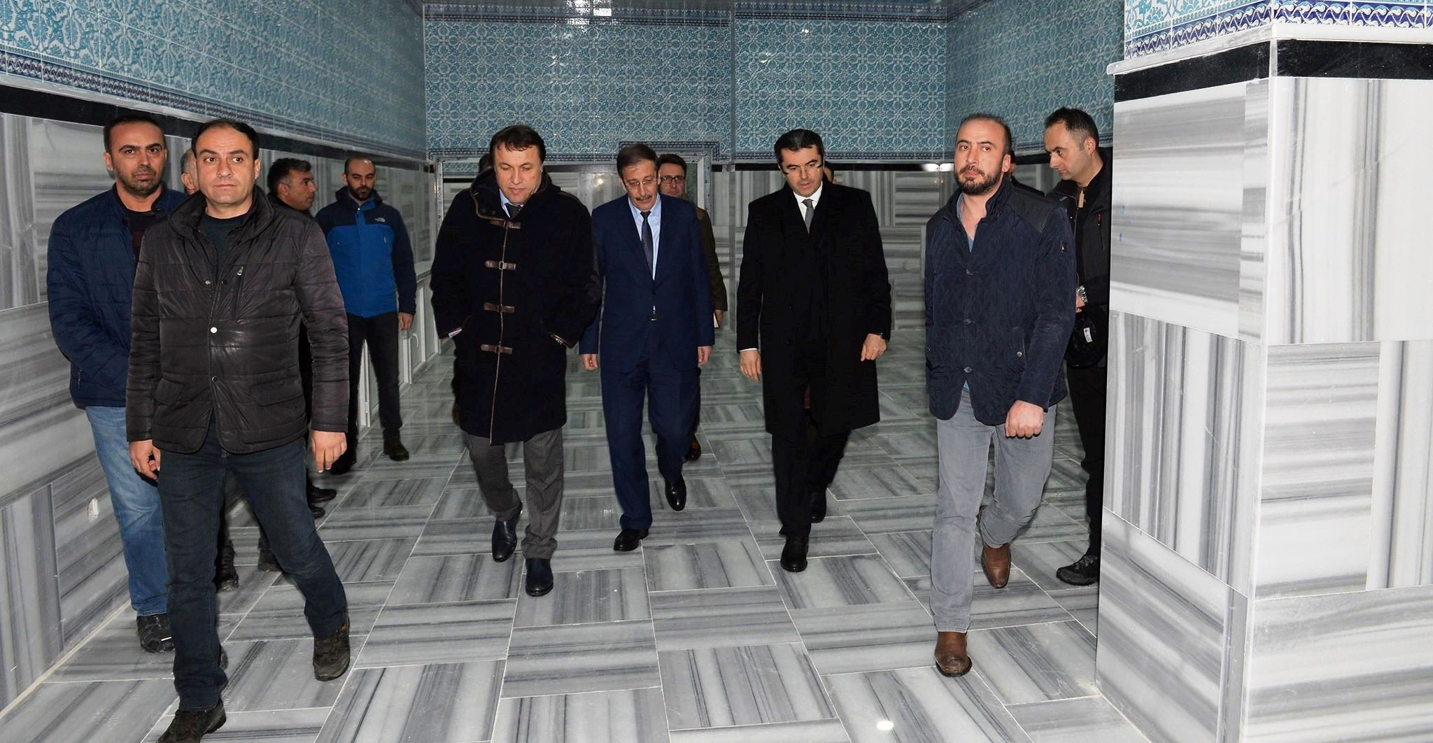 Vali Memiş, Palandöken Belediyesinin yatırımlarına hayran kaldı