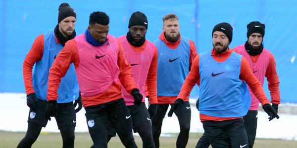 Erzurumspor, Sivasspor maçı hazırlıklarını tamamladı
