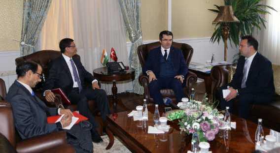 """""""Hindistan ile Türkiye arasındaki turizm potansiyeli yüzde 80 arttı"""""""