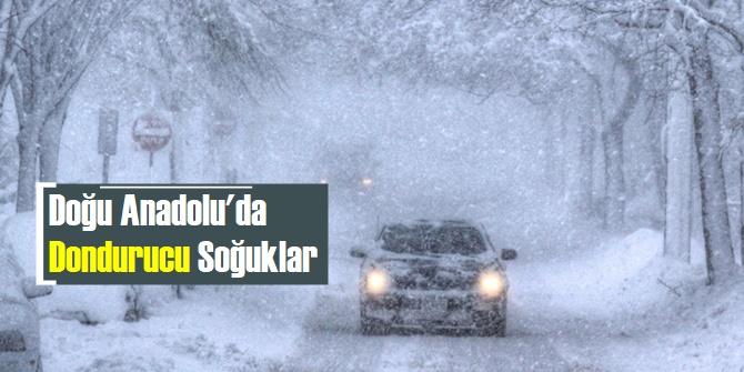 Doğu Anadolu'da dondurucu soğuklar