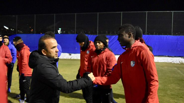 Erzurumspor'da MKE Ankaragücü maçı hazırlıkları başladı