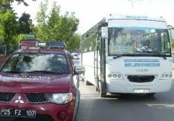 Halk otobüsü terörüne ceza!