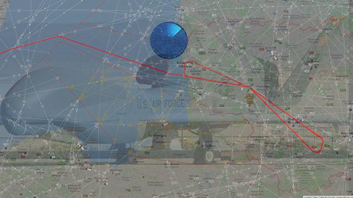 6 saatlik gizemli keşif! ABD İHA'sı Rus hava sahasında uçtu!